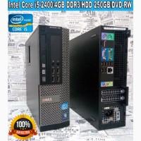 Dell OptiPlex 790: Четырех ядерный Сore i5 2400/4Гб DDR3/250Gb