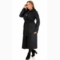 Женское демисезонное пальто полушерсть, размеры S-XL опт и розница-D222