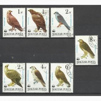 Продам марки Венгрии (птицы)