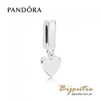 PANDORA шарм-клипса REFLEXIONS Любящее сердце 797643