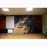 Роспись стен в интерьере, граффити, декор, фотозоны