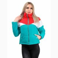 Модные демисезонные куртки Ярина, размеры 42-48, пять цветов - D233