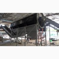 Наклонный конвейер для транспортировки ТБО