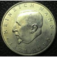 Германия 20 марок 1971 Генрих Манн