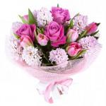 Составление цветочных букетов на заказ