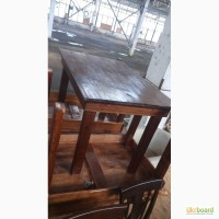 Продаются бу деревянные столы для кафе, столовых, баров