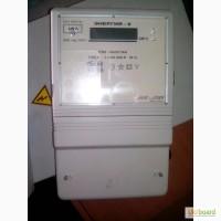 Счетчики электрической энергии трехфазные б/у продам