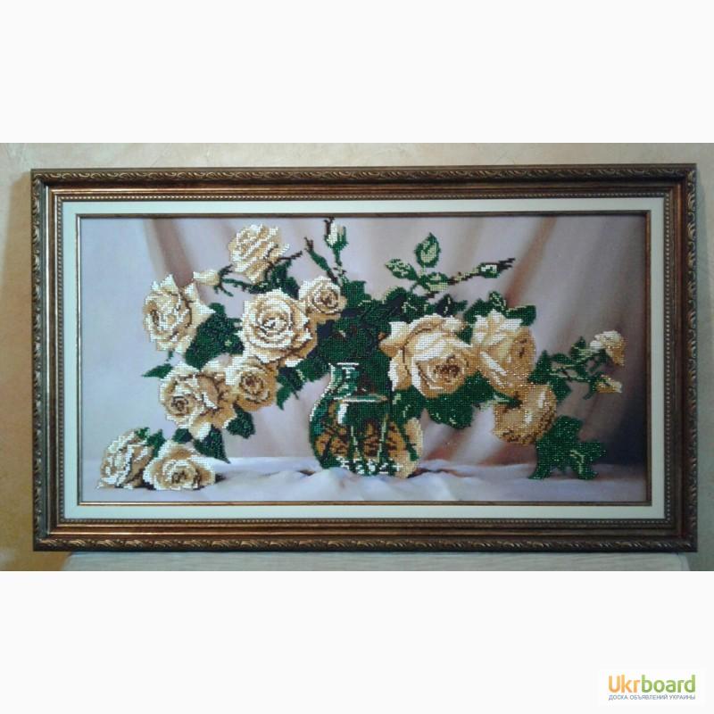 Вышивка бисером продать картины