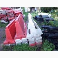 Купим пластиковые боны бу, дорожные ограждения бу