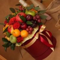 Букеты из фруктов! Сладостей! Пивные! Фруктовые букеты