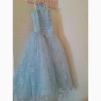 Продам б/у нарядное платье рост 116 до 128