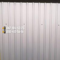 Профнастил серый металлик (RAL9006)