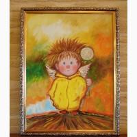 Картина маслом копия Чувиляевой на подарок