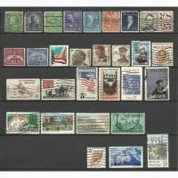 Продам марки США 29 шт