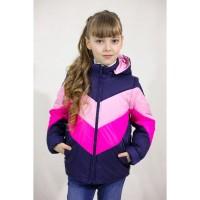 Демисезонные разноцветные куртки- жилетки для девочек 7 - 12 лет, цвета разные-S9944