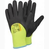 Нитриловые перчатки покрытые акрилом