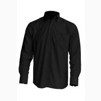 Рубашка мужская с длинным рукавом JHK SHRA POP LS, черная