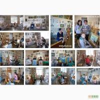 Обучение школьников живописи в Днепропетровске