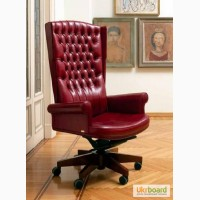 Кресло руководителя EMPIRE(Империя) в люкс-коже