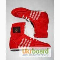 Боксерки, обувь для бокса, натуральная замша.