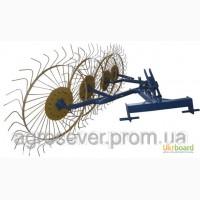 Грабли ворошилки (Солнышко) 4-ёх колесные для минитрактора