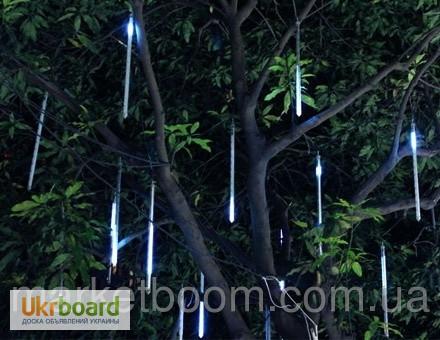 Фото 2. Гирлянда Сосулька, украшение для дерева
