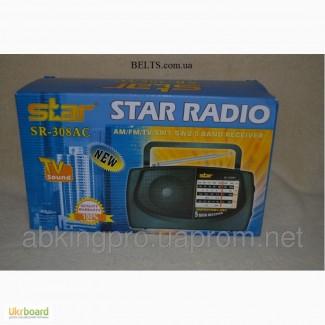 Радиоприемник Star Radio SR-308 AC, радио Стар