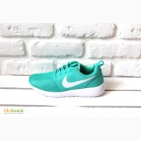 Женские кроссовки Nike Roshe Run (Green)