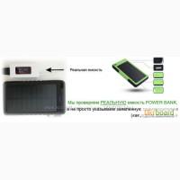 Солнечное зарядное устройство 10000mah. Аккумулятор на солнечной батареи Solar Power Bank