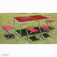 Столик для рыбалки, столик и стулья для пикника, туристический раскладной набор мебели