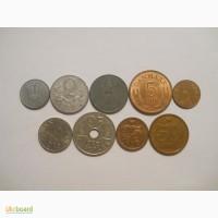 Монеты Дании (9 штук)