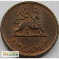 Эфиопия 10 центов 1943 год СОСТОЯНИЕ