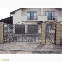 Откатные ворота (кованные и решетчатые) от 3000 грн./м2