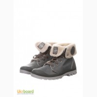 Распродажа! Тёплые и надёжные ботинки Palladium Натур кожа/мех
