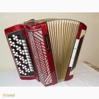 Немецкий аккордионированный пятирядный концертный баян Barcarole Professional