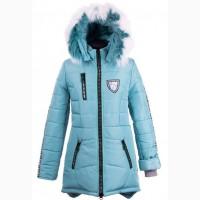 Зимние тёплые удлиненные куртки-парки для девочек, размеры 38-44, цвета разные