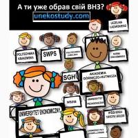 Навчання в Польщі під ключ: державні, приватні університети