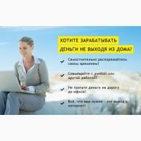 Работа в крупном он-лайн бизнес проекте