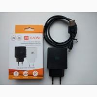Зарядка сетевое зарядное устройство USB Xiaomi с кабелем MicroUSB на 2 ампера