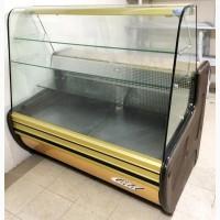 Витрина холодильная бу Cold C-14 G. Витрина кондитерская бу