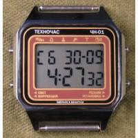 Часы ЭЛЕКТРОНИКА ЧН-01 с АЦНХ 5 мелодий арт.1146