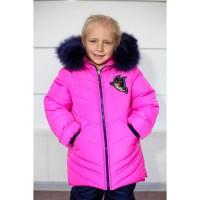 Детские теплые зимние комбинезоны Ксения для девочек 2-5 лет опт и розница
