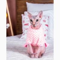 Продам платье кофту для кошек, Кофта - платье с рукавом Frida арт (567-FR)