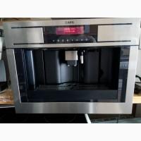 Встраиваемая кофе машина AEG