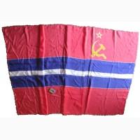 Флаг Киргизии времён Союза_СССР желеги Кыргызстан