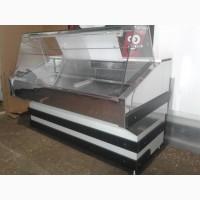 Холодильная витрина 1, 5 м. бу, холодильный прилавок б/у