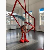 Индивидуальные уроки по воздушной гимнастике на полотнах и кольце