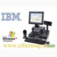 Кассовый терминал, ( полностью комплектное торговое место ) IBM Surepos 300 на запчасти