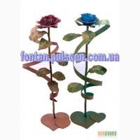 Кованые розы - Подарок для девушки (Кованая роза Кована троянда Ковані троянди Киев Київ)