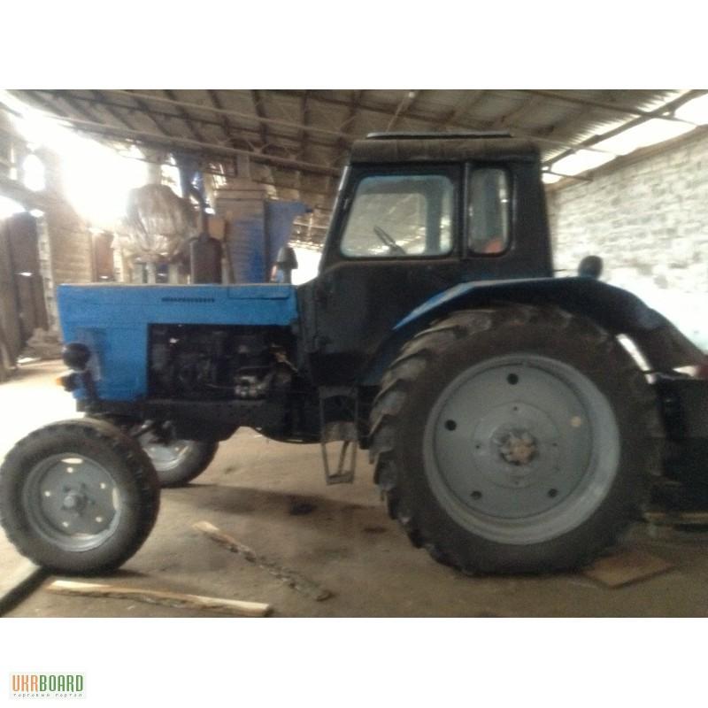 Трактор мтз-80, прицеп и плуг в городе Курске. Цена.